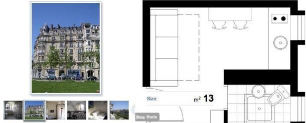 Apartamento de Paris