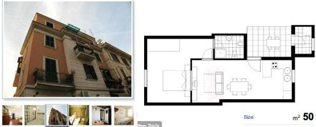 Apartamento de Roma