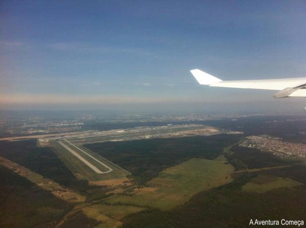 aeroporto frankfurt aviao