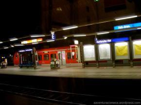 Trem de Frankfurt àRoma