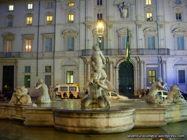 Fontana del Mouro piazza navona