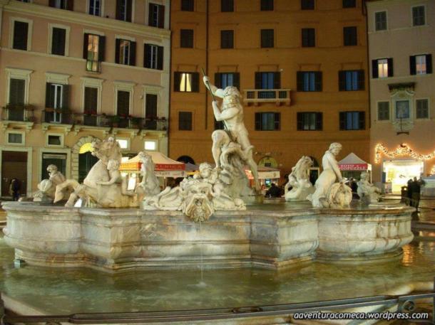 fontana del Netuno roma