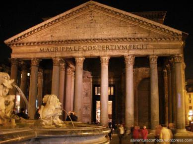 Pantheon e fontana