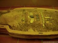 amuletos junto à múmia