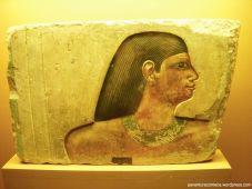 Fragmento de relevo pintado, Dinastia 4