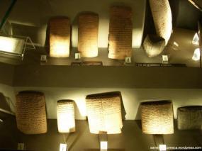 Tabuletas cuneiformes da Mesopotamia