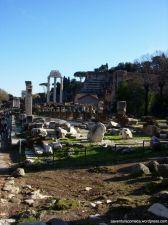 forum romano basilica julia restos