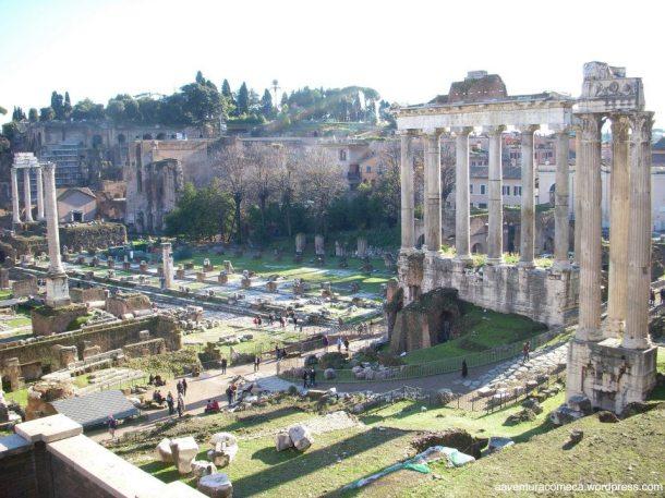 forum romano de cima
