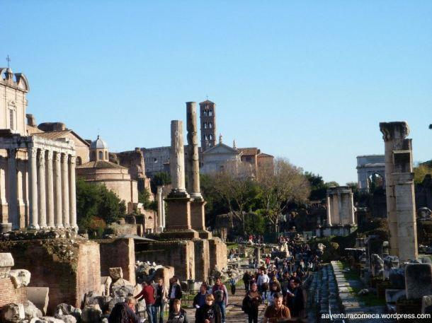 forum romano via sacra