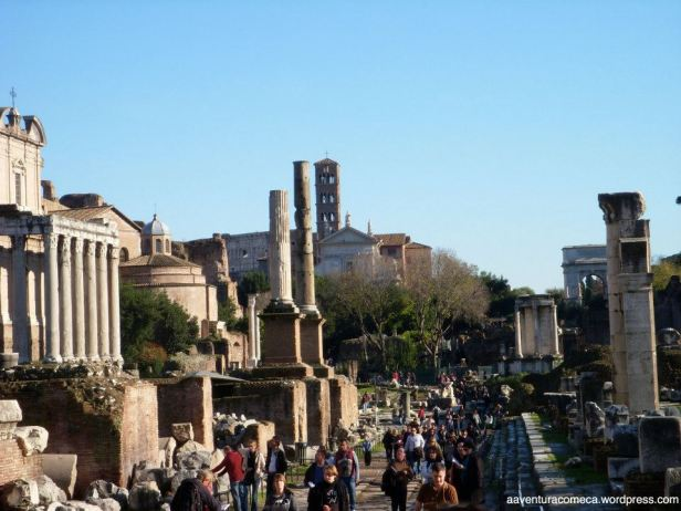 forum romano via sacra