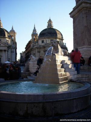 Piazza del Popollo fonte