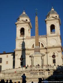 piazza di spagna roma igreja