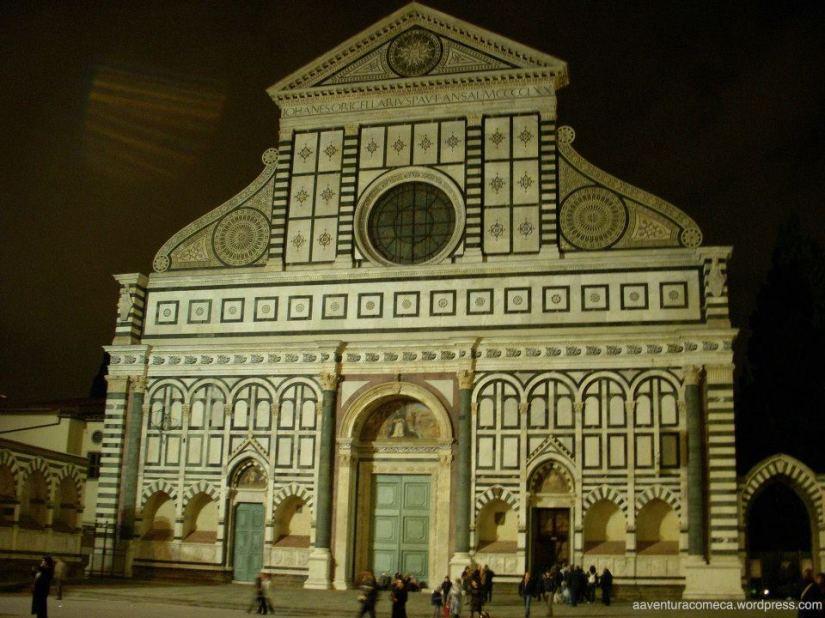 Basílica de Santa Maria Novella florenca