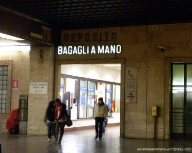 Guarda volumes da estação de Florença