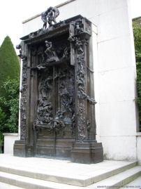 nos jardins do Museu Rodin