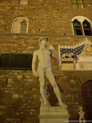 Piazza della Signoria - Réplica David de Michelangelo