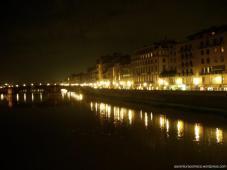 Vista lateral na Ponte Vecchio