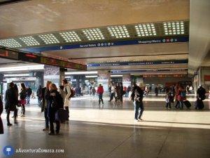 Termini Estação central de Roma