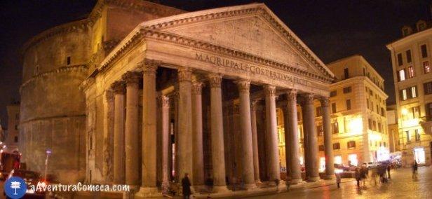 Panorama Panteao roma