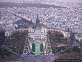 Trocadero (visto do Topo da Eiffel)