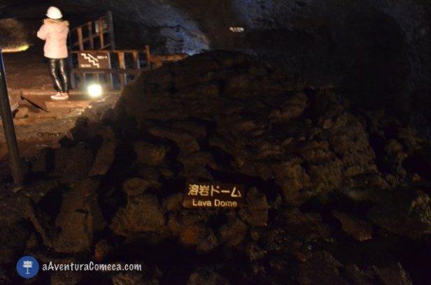 fuji lava bat cave japao