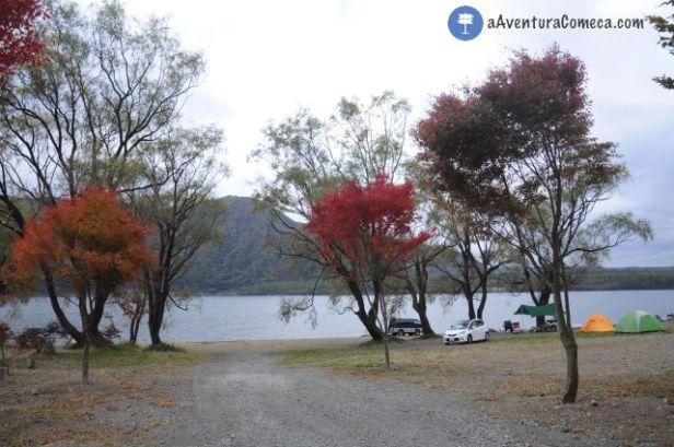 lago kawaguchiko fuji japao