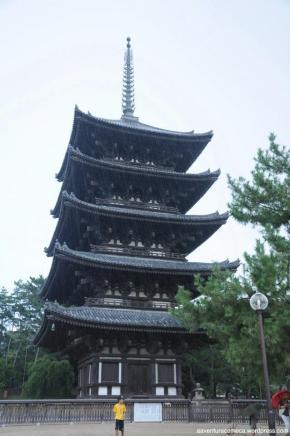 Visita à Nara: o temploKofukuji