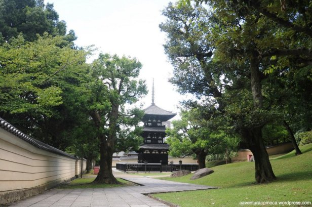 Pagode de 3 andares de Kofukuji