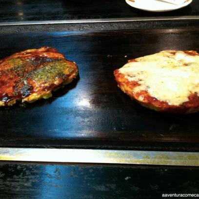 Okonomiyaki e Wafu Pizza