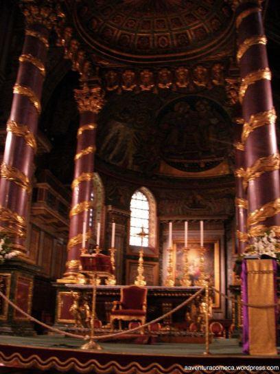 Basilica Santa Maria Maggiore baldaquino