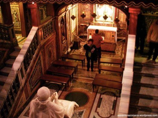 Basilica Santa Maria Maggiore capela baixa