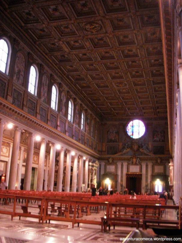 Basilica Santa Maria Maggiore teto