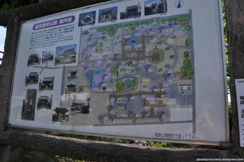 Mapa do local