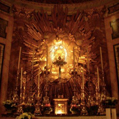 Igreja Santa Maria della Vitoria altar