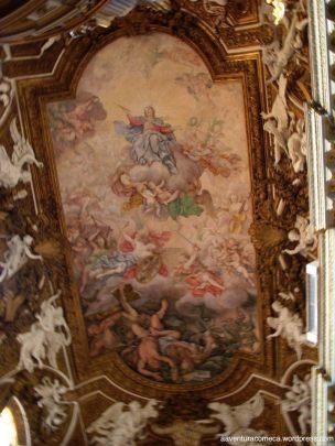 Igreja Santa Maria della Vitoria teto