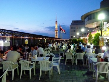 chunichi beer garden
