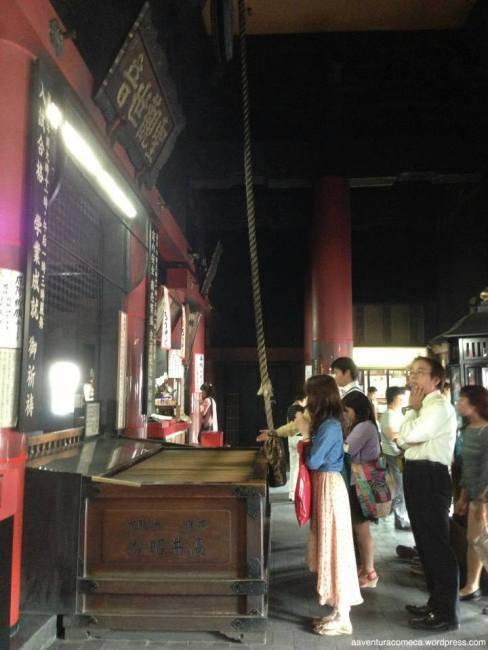 dentro osu kannon templo nagoya