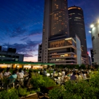 Summer Beer Garden: no topo dos prédios de Nagoya