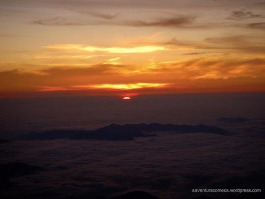 nascer sol monte fuji ponta japao