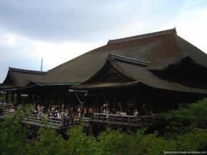 Kiyomizudera o templo da água pura emKyoto