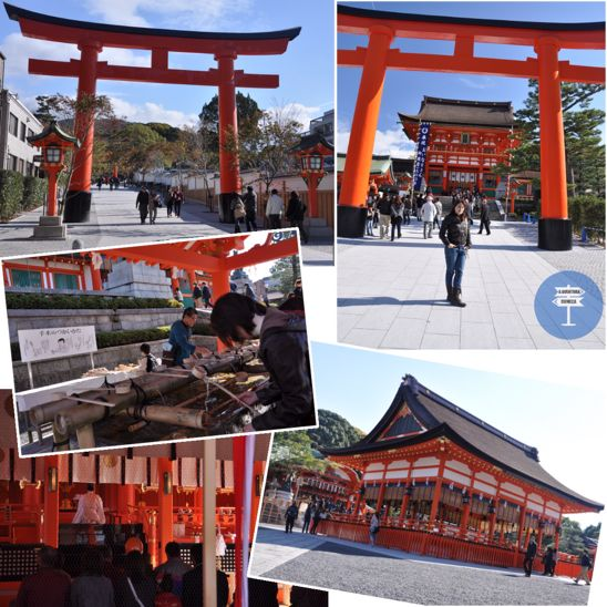santuario fushimi inari kyoto