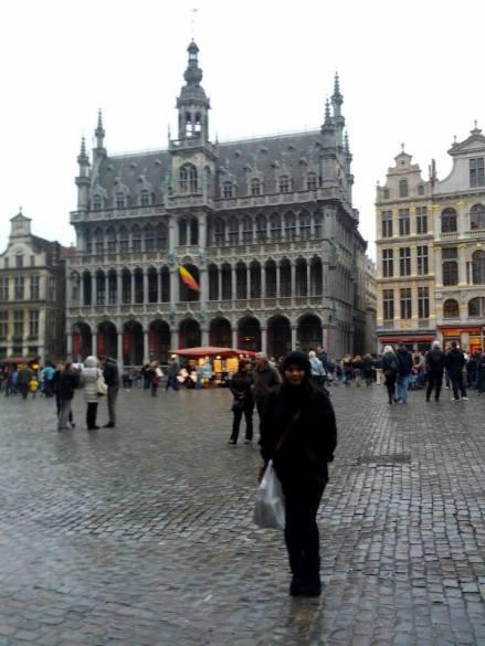 Grand Palace em Bruxelas