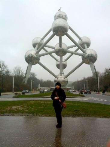 Monumento ao Átomo em Bruxelas
