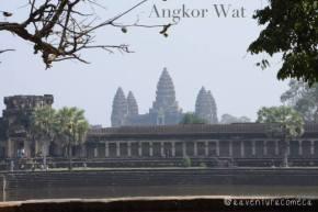 O maravilhoso templo de AngkorWat