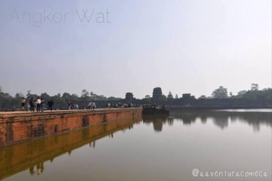 angkor wat fosso camboja