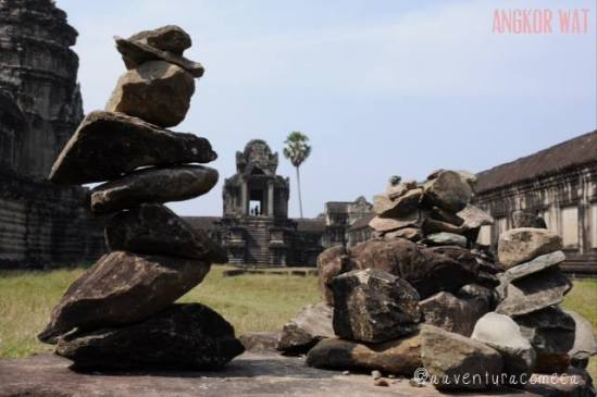 pedras templo angkor wat camboja
