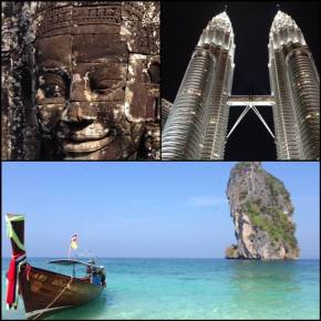 Planejamento Camboja Tailândia e KualaLumpur