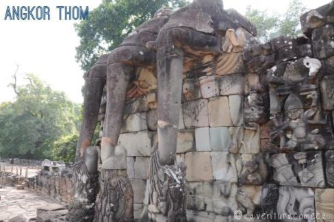 angkor thom elefantes