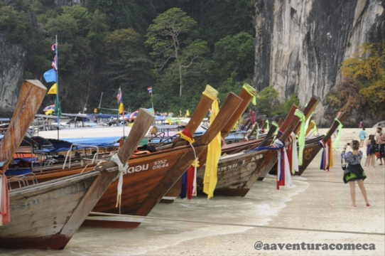 tailandia long tail boat