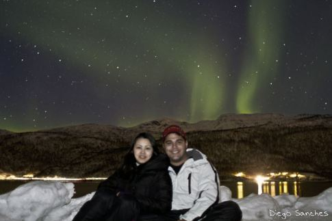 aurora boreal fernanda e diego